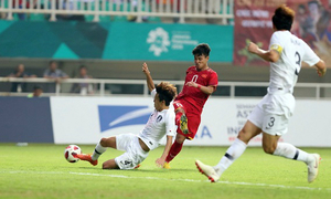 Fox Sports names 3 Vietnam footballers in Asian Games dream team