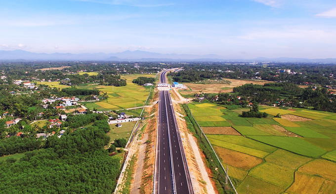 The 139 km long expressway cost about $1.51 billion. Photo by VnExpress