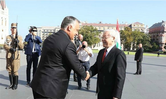 Vietnam, Hungary establish comprehensive partnership