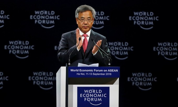 China urges Southeast Asian nations to reject trade protectionism