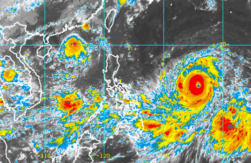 Storm Barijat to devolve into depression as Mangkhut heads for South China Sea