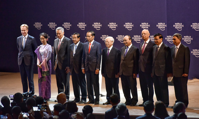 World Economic Forum on ASEAN begins in Hanoi
