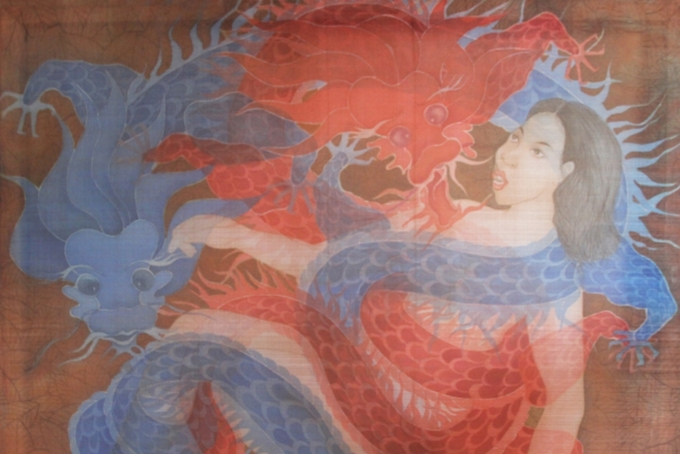 Silk paintings collection celebrates womens beauty, complexity - 4