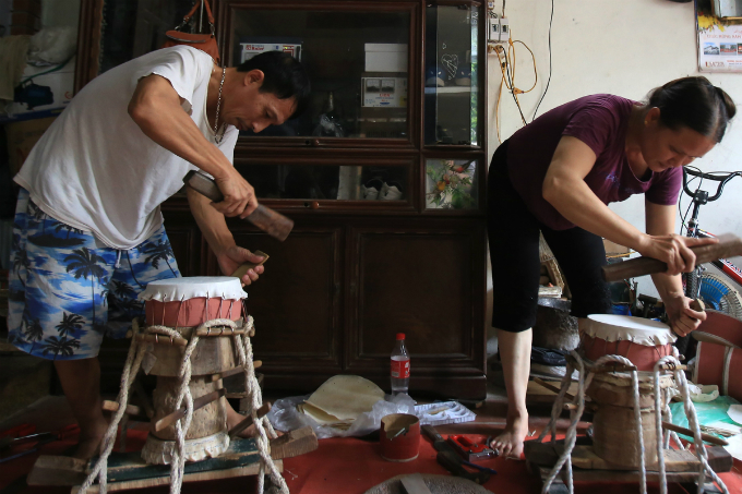 Three Vietnam families drum up some noise for the Mid-Autumn Festival - 5