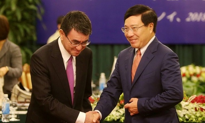 Japan, Vietnam urge US to rejoin Pacific trade deal