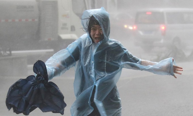 Hong Kong, southern China mop up after super typhoon