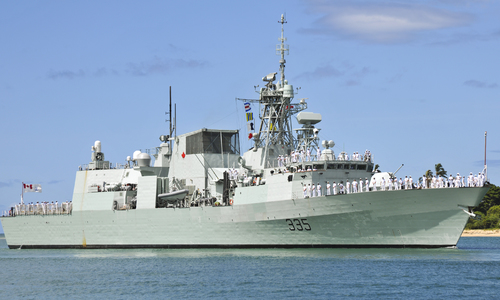 Canadian warship to make port call in Vietnam