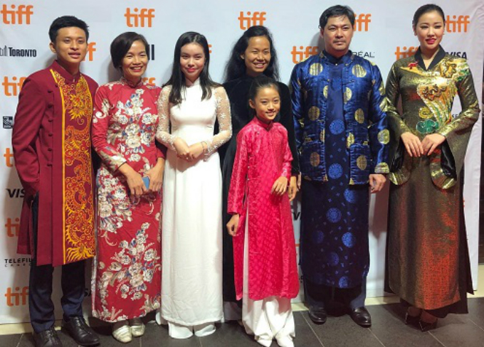The films main cast and crew at the TiFF.