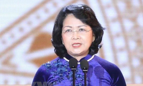 Vietnam's vice president appointed acting president