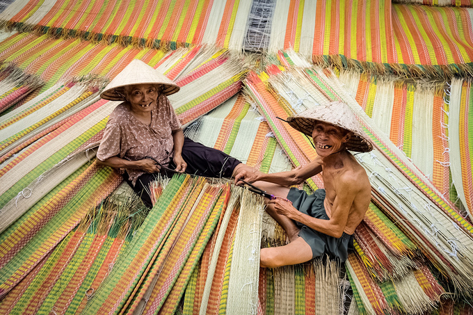 100-year-old mat making village in south Vietnam still going strong - 7