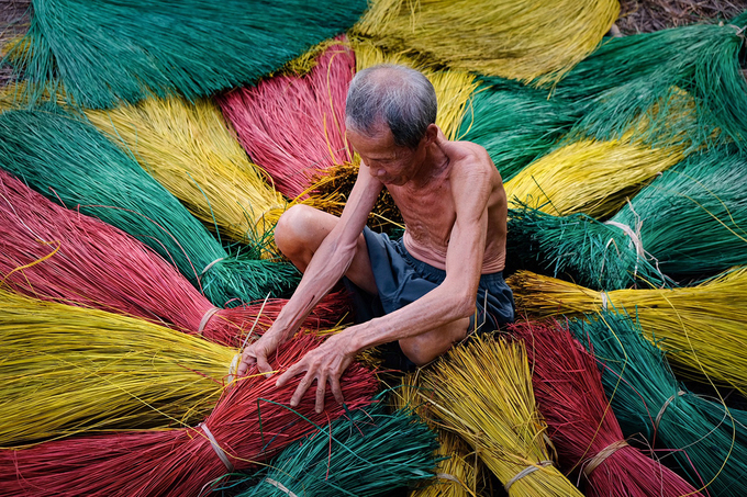 100-year-old mat making village in south Vietnam still going strong - 3