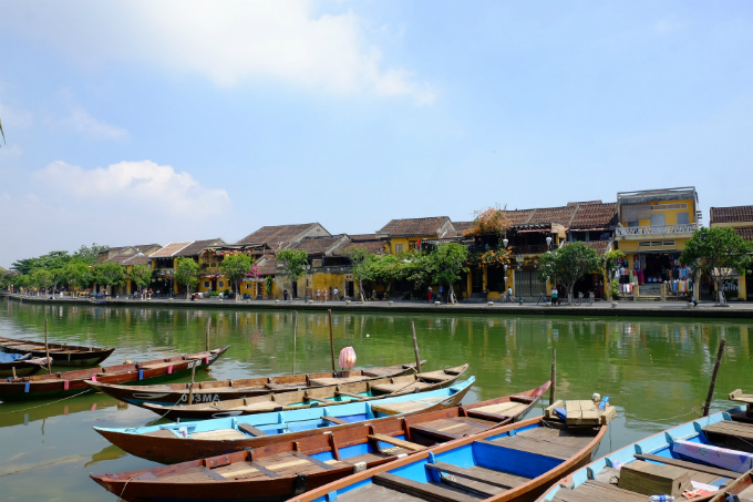 Hoi An ancient town is a top tourist attraction in Vietnam.