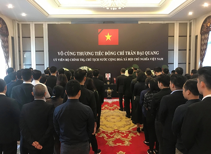 World leaders pay tribute to Vietnams president Tran Dai Quang - 9