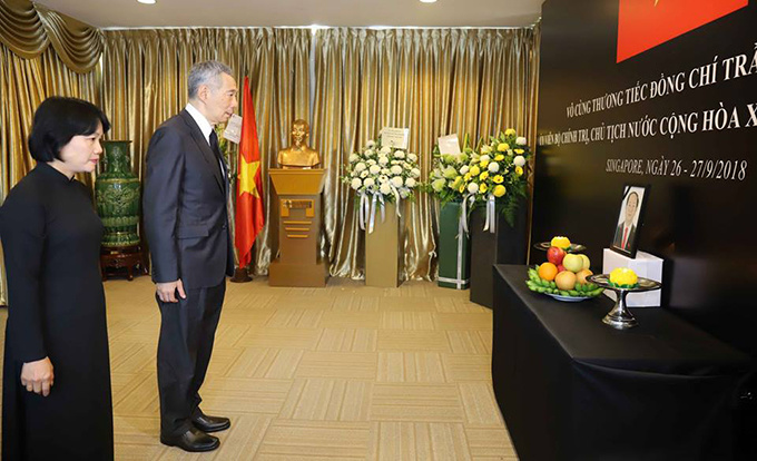 World leaders, diplomats pay tribute to Vietnamese President Tran Dai Quang - 7