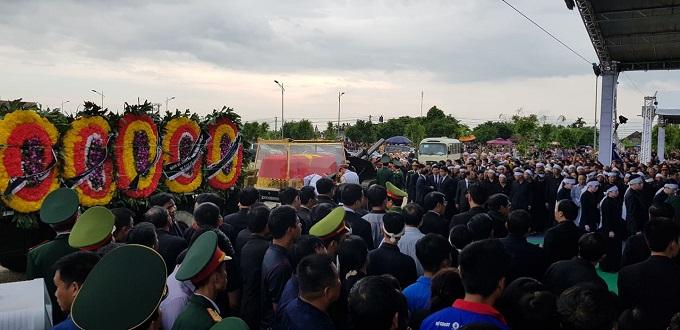 Vietnamese bid farewell to President Tran Dai Quang - 10