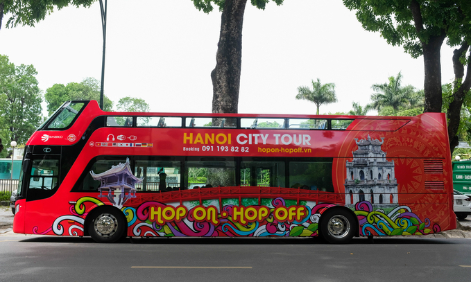 Hanoi to open new route for double-decker bus