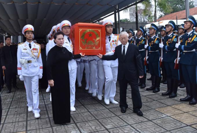 Vietnamese bid farewell to President Tran Dai Quang - 1