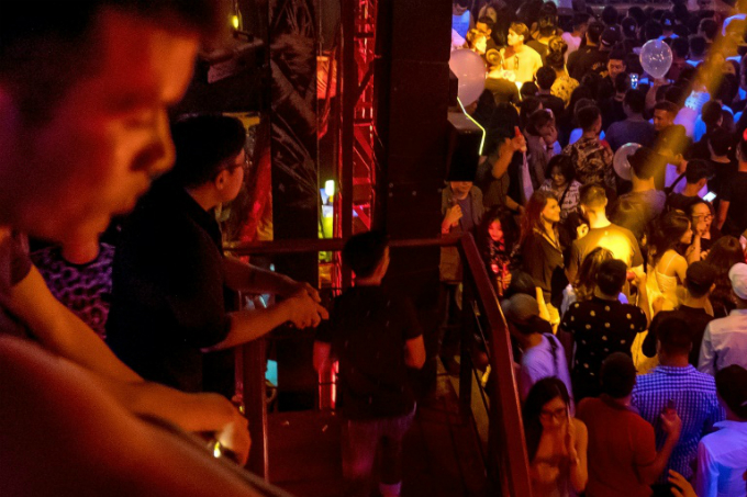 Many worry that the EDM scene in Hanoi could wither away. Photo by AFP/Linh PHAM