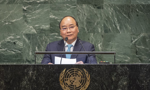 Vietnamese PM backs central role for UN in human progress