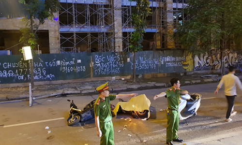 Outrage as scaffolding bar kills woman in Hanoi