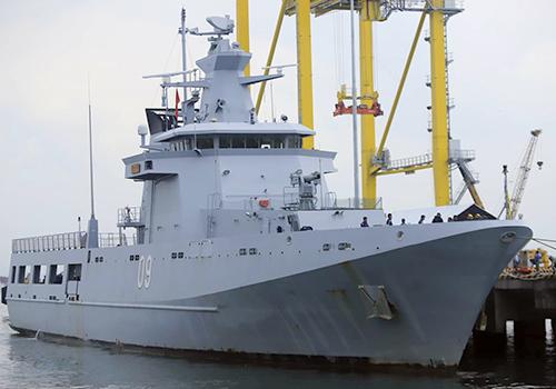 Brunei patrol vessel docks in central Vietnam