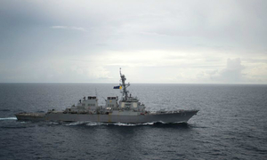 Chinese destroyer extremely close to US warship: US