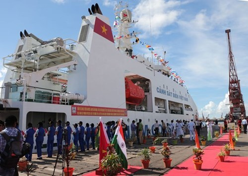 Vietnam Coast Guard ship makes first visit to India