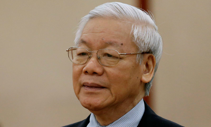 Vietnam's Party chief Trong presented as presidential candidate