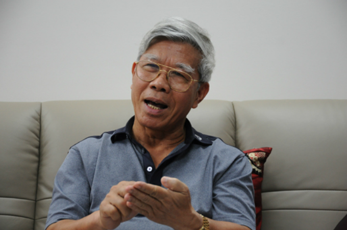 Le Duc Thuy, former asisstant of late ex-Party chief Do Muoi. Photo by VnExpress/Viet Tuan