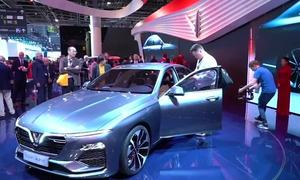 Vietnam's first domestic car manufacturer bets big at Paris Motor Show