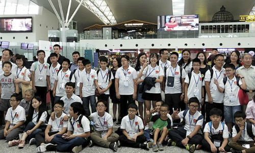 Vietnamese students win record 8 gold medals at int'l science, math contest