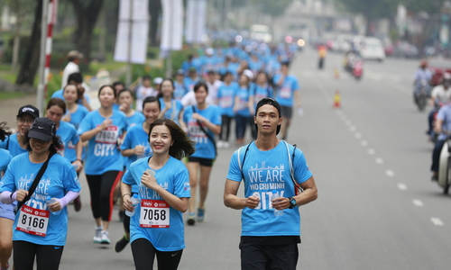 HCMC International Marathon links up with charity