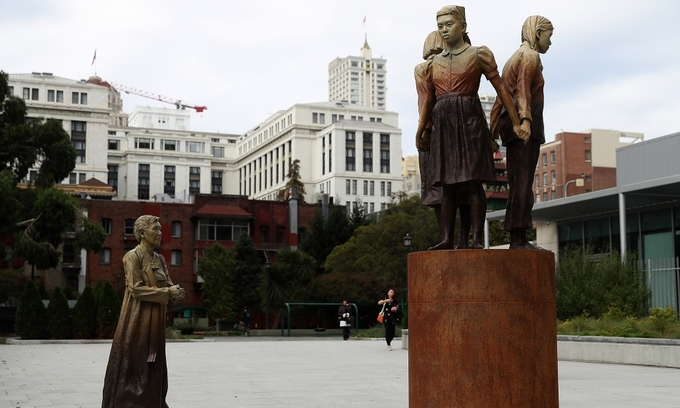 Osaka cuts ties with San Francisco over 'comfort women' statue