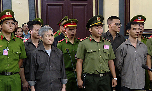 Five Vietnamese jailed for attempting to 'overthrow government'