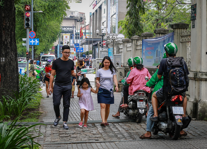 Walking streets expansion could mess with Saigon traffic, experts caution