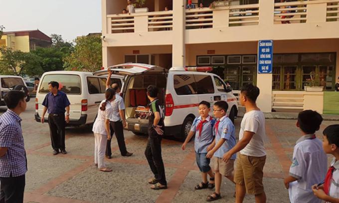Infected meat poisoned school kids in north Vietnam