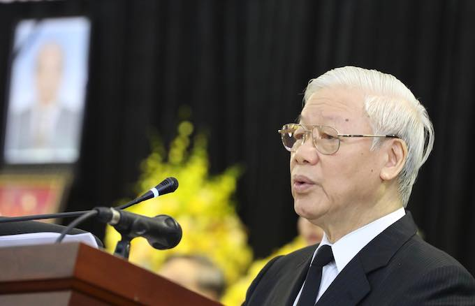 Nation bids farewell to former Party Chief Do Muoi - 2