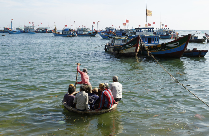 Brunei fines four Vietnamese for illegal fishing