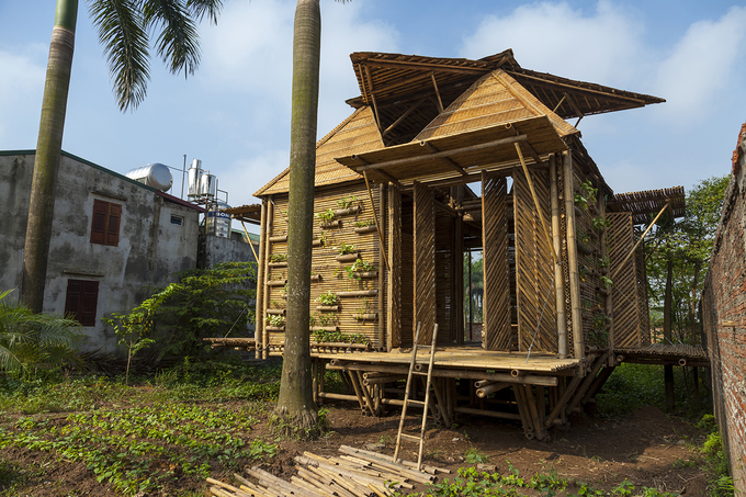 Vietnams bamboo house won prestige German design award - 5