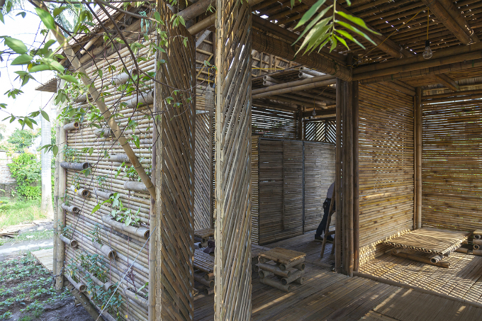 Vietnams bamboo house won prestige German design award - 7