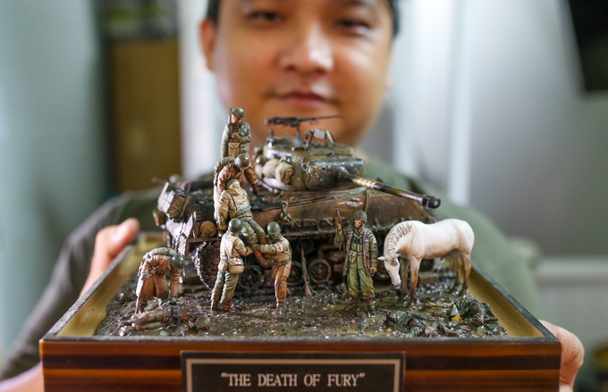 Saigon resident recreates historic events in miniature 3D figurines - 2
