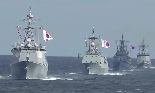 South Korea hosts international fleet review without Japan