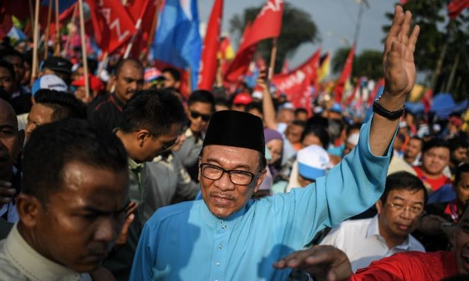 Malaysia begins by-election vote to pave Anwar's return