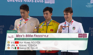 Vietnamese swimmer wins Youth Olympics gold