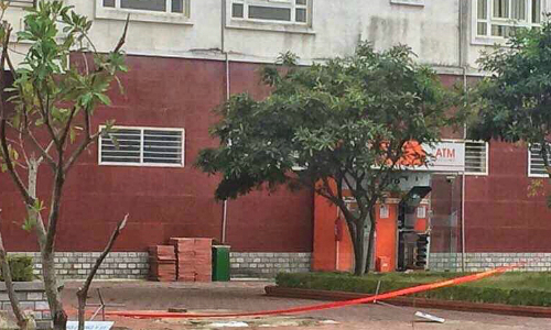 Explosives planted in northern Vietnam ATM booth