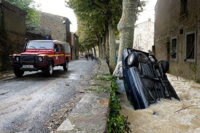 Deadly floods hit southwest France