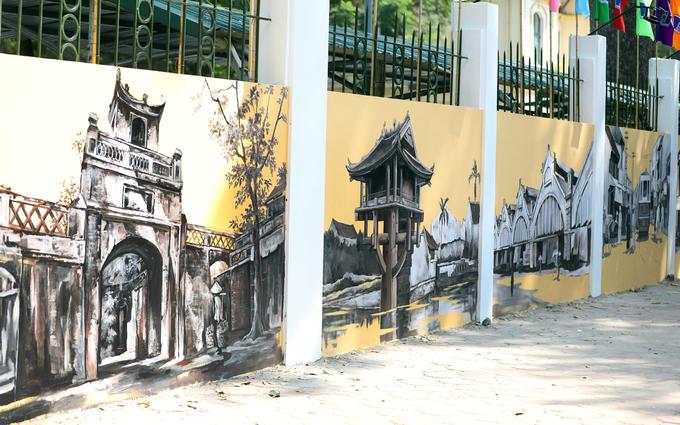 Hanois century-old high school draped in modern graffiti of ancient relics - SEN (unedited) - 3