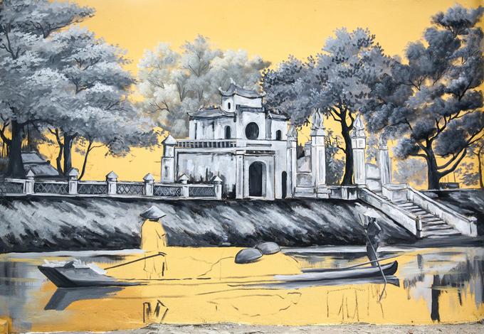 Hanois century-old high school draped in modern graffiti of ancient relics - SEN (unedited) - 7