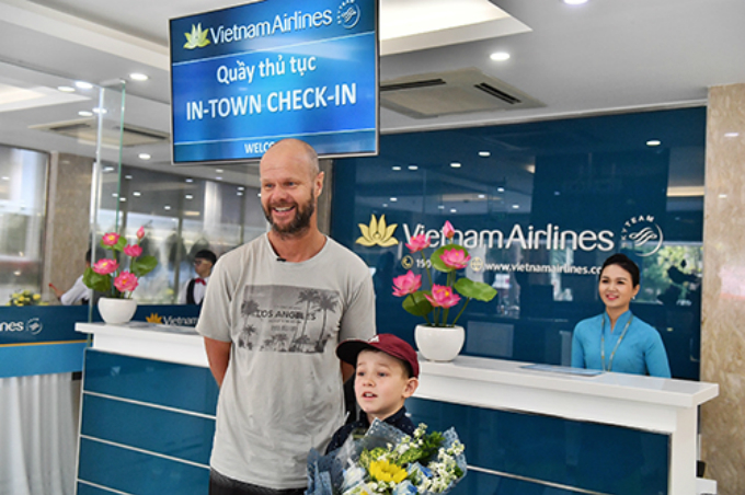 Vietnam Airlines rolls out in-town check-in