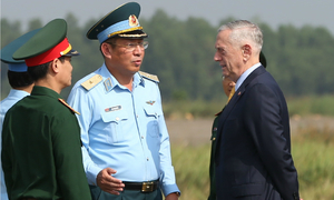 US defense secretary visits dioxin hotspot in Vietnam